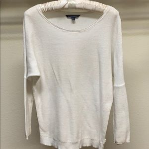 American Eagle Outfitters Classic White Sweater